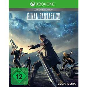 Final Fantasy XV - Day One Edition (Xbox One & PS4) für 29,99€ (Lokal Müller + Amazon)