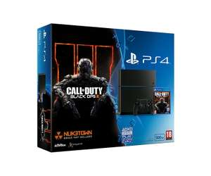 Sony PlayStation 4 500GB (C-Chassis CUH 1216A) mit Call of Duty Black Ops 3 @ Amazon WHD UK