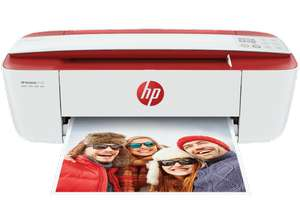 HP DeskJet 3732 All-in-One-Drucker, Weiß/Rot