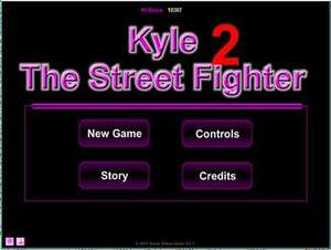 [itch.io] Kyle The Street Fighter 2