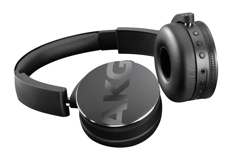 AKG Y 50 BT On-Ear Bluetooth-Kopfhörer Black für 96€ @amazon.fr