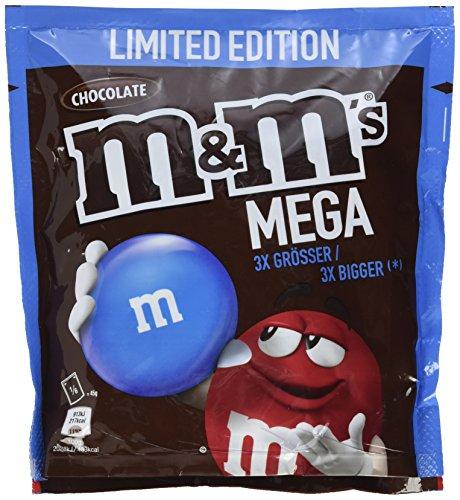 M&M ´s MEGA Chocolate - Limited Edition, 5 Beutel (5 x 270 g) @amazon.de