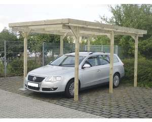[Hornbach] Carport aus Holz inkl. PVC-Dacheindeckung (3,00 x 5,02 m)