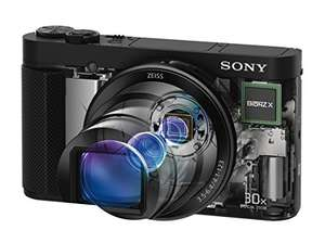 "[amazon.it] Sony DSC-HX90 Kompaktkamera (3"" Display, 30x opt. Zoom, 60x Klarbild-Zoom, Weitwinkelobjektiv, NFC, Wireless Lan Funktion, Superior iAuto Modus, 5-Achsen Bildstabilisator, FullHD-Video) schwarz für 298€ statt 369€"