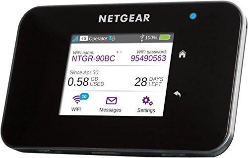 [amazon.it] NETGEAR AC810-100EUS Aircard 810 Mobile Hotspot Router (4G LTE, Cat 11, 600MBit/s, 802.11ac, Powerbank-Funktion, wechselbarer 2.930 mAh Akku, MicroSIM) schwarz für 174€ statt 210€
