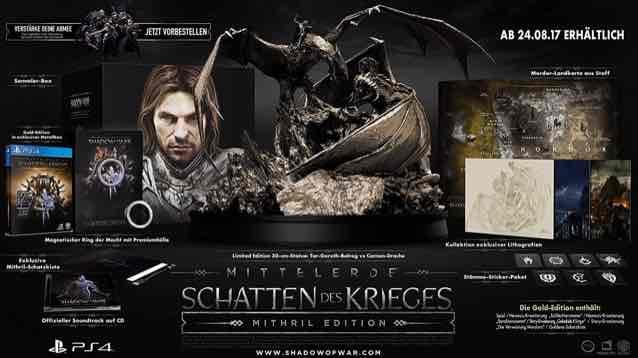 Mittelerde: Schatten des Krieges Mithril Edition PS4