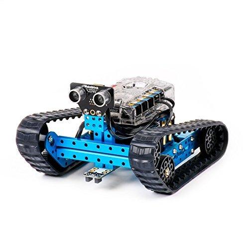 Makeblock mBot Ranger, Transformable STEM Pädagogische Roboter-Kit, 3-in-1 Roboter-Tank, Selbst-Balance Auto, und 3-Rad-Auto