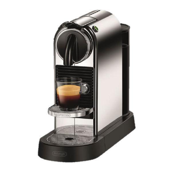 [ebay] DeLonghi Citiz - Nespresso Kaffeekapselmaschine in chrom (inkl. Welcome-Paket mit 16 Kaffeekapseln + 40€ Guthaben im Nespresso Club) für 80€ statt 100€