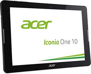 Acer Iconia One 10 (B3-A20) 25,7 cm (10,1 Zoll HD) Tablet-PC (MTK MT8163 Quad-Core, 1,3GHz, 1GB RAM, 16GB eMMC, Android 5.1 Lollipop) schwarz