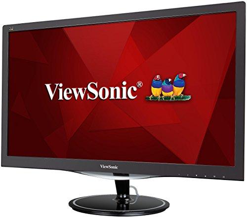 Viewsonic VX2457-MHD 59,9 cm (24 Zoll) Gaming Monitor (Full-HD, 1 ms, 75 Hz, Free-Sync, geringer Input Lag) Schwarz
