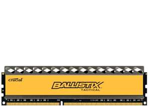Crucial Ballistix Tactical 8GB DDR3-1866 CL9 für 38,18€ (Amazon)