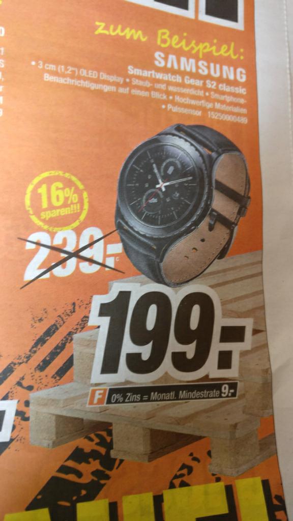 Samsung Gear S2 Classic 199€ (Expert Klein)