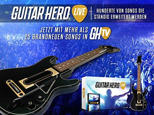 ab 16,90: Guitar hero Live (XBox 360 und andere) - Amazon Blitz