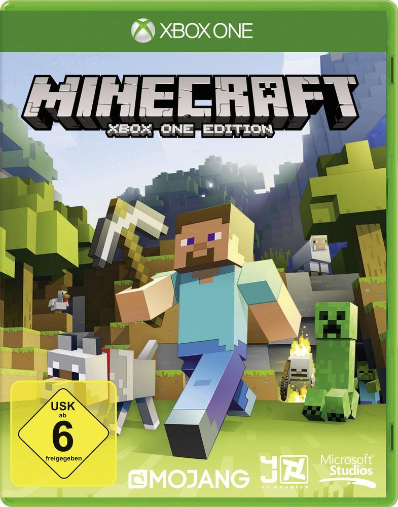 Minecraft (Xbox One) für 12,13€, Rise of the Tomb Raider (Xbox One) für 21,51€ u.a. Spiele reduziert [Conrad + Amazon]