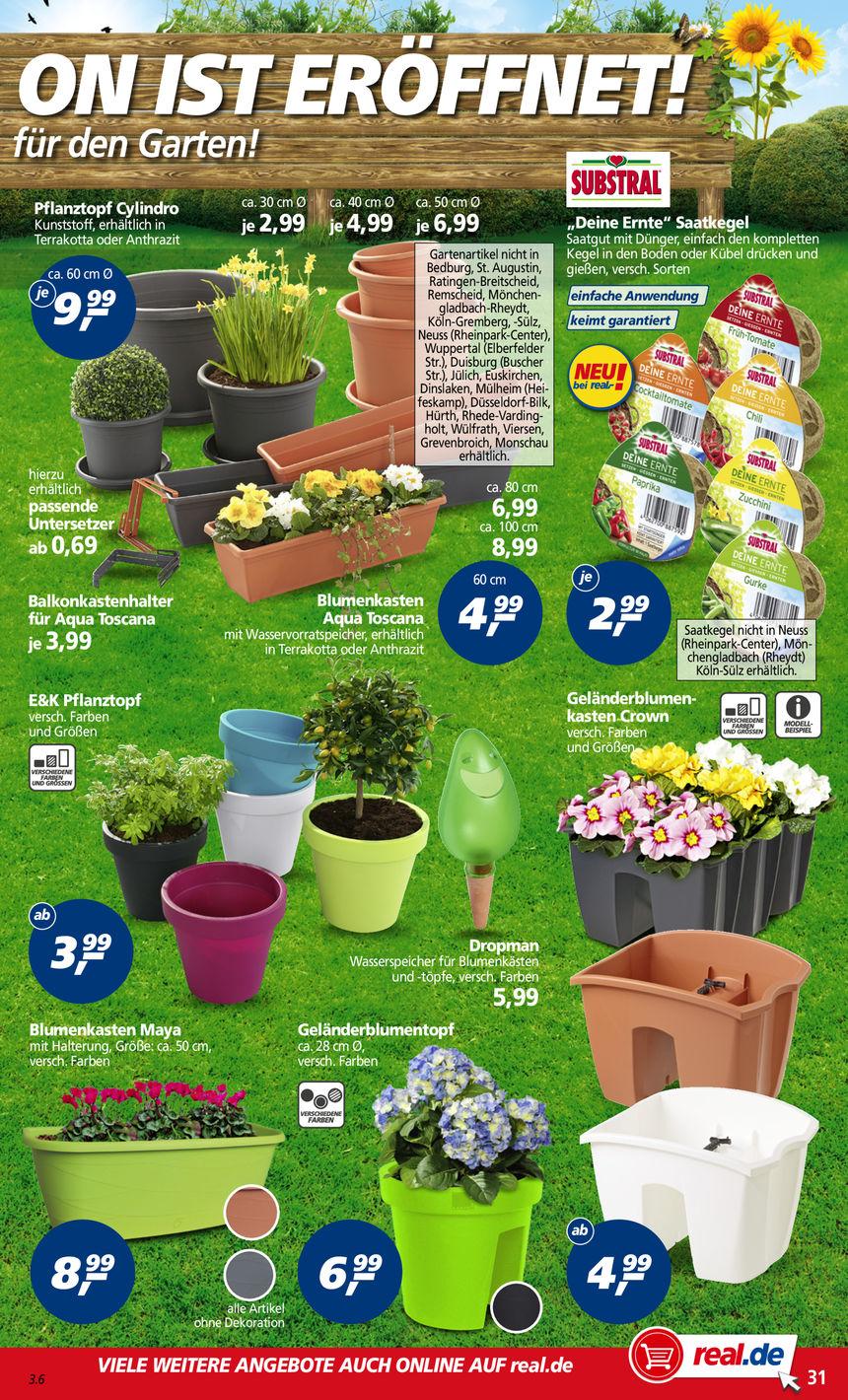 Substral Gemüse-Setztöpfchen für 2,99 mit 5 für 4 und Payback kombinieren