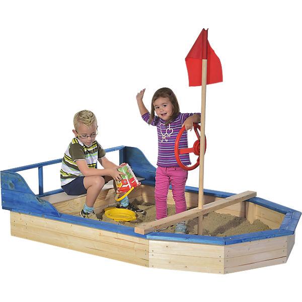 Sandkasten Piratenboot von Gaspo für 137,94€ inkl. VSK bei [Mytoys]