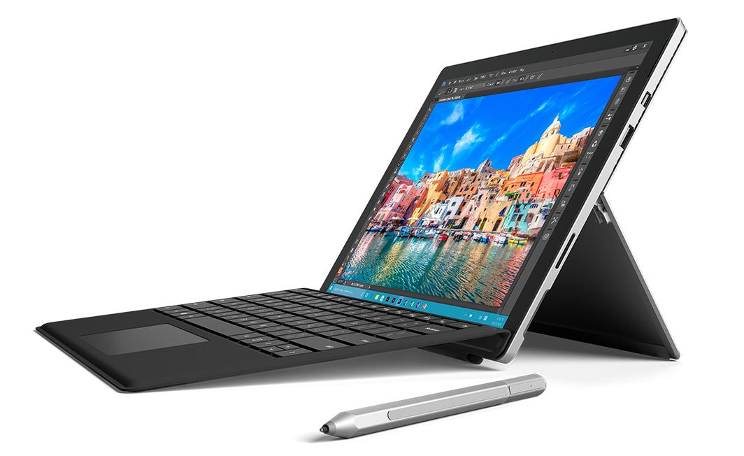 Microsoft Surface Pro 4 (Core M) mit Surface Pro 4 Type Cover für 752,90€ [allestechnik]