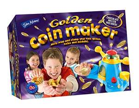 """Schokomünzen selber machen mit dem """"Golden Coin Maker"""" für 6,57€ [Amazon Prime]"""