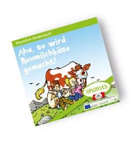 kostenlose Kinderbücher und andere Broschüren vom Anbieter Heumilch postalisch anfordern oder sofort downloaden