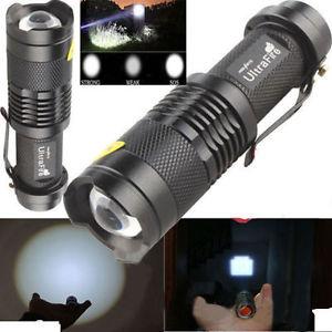 UltraFire SK68 CREE Q5 LED Alu Taschenlampe für 1,98€ (eBay)