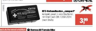 [Hellweg Baumarkt] KFZ-Verbandkasten compact DIN13164:2014