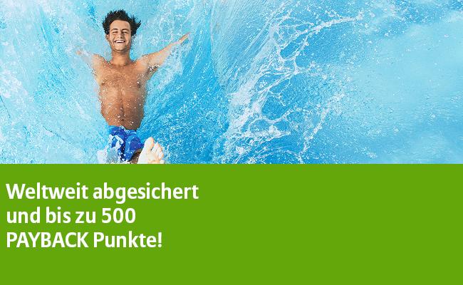 Auslandsreise-Krankenversicherung für Singles für eff. 4,80€ im 1. Jahr und Familien für eff. 14,60€ bei Allianz mit Payback Punkten