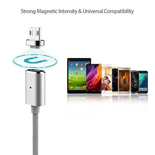 Magnetisches Micro USB Ladekabel Datenkabel 1,2m