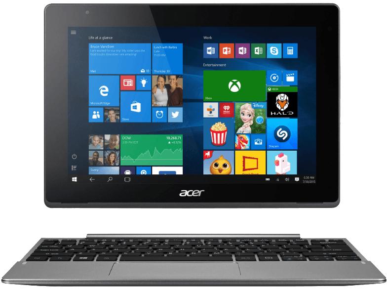 """ACER Aspire Switch 10 V LTE (SW5-014-15UL), Convertible mit 10.1"""", 64GB Speicher, 4 GB RAM, Atom™ x5 Prozessor, Anthrazit bei Saturn für 359 €"""