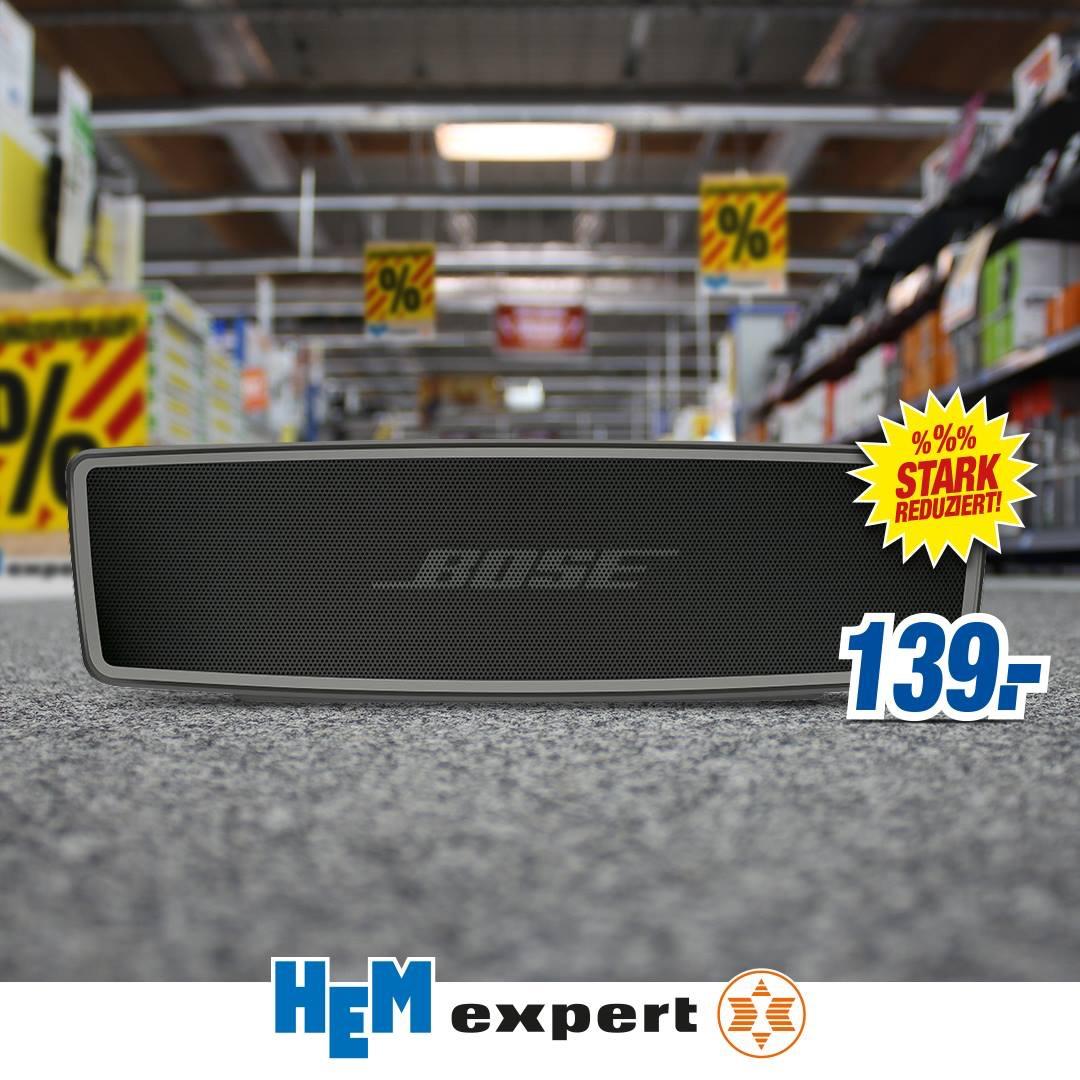 [Lokal HEM Expert Wiesloch] Bose Soundlink Mini 2 für 139€