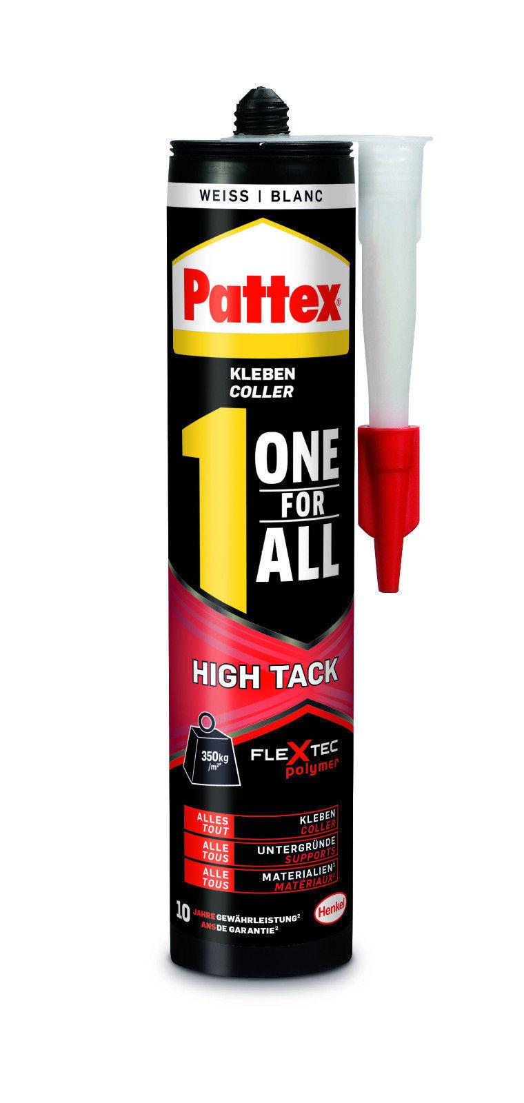 Pattex One For All HighTack Montageklebstoff 3 € (lokal) und ab 4,33 € (ebay) statt 8 €