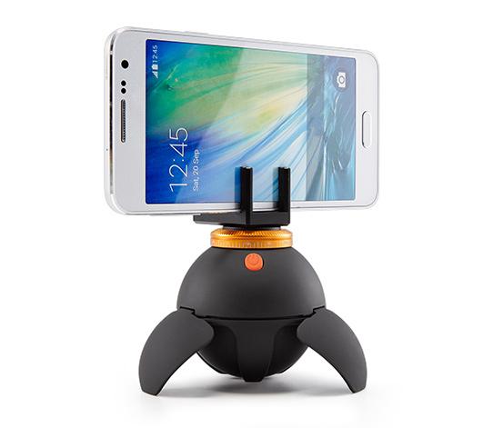[Tchibo] LogiLink 360° Panorama Stativ (Kugel), ideal für Digital Kameras, Action Cams, Smartphones, etc. um Virtual Reality Umgebungen aufzunehmen