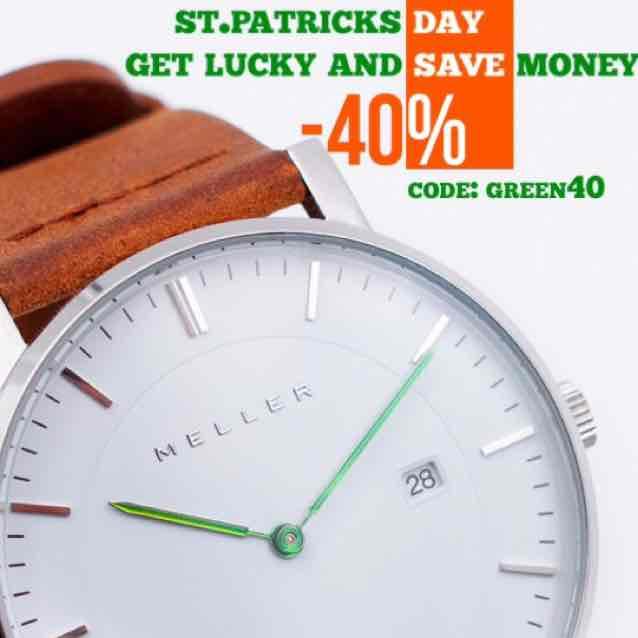 40 % auf Meller Uhren & Sonnenbrillen (50% bei 2 Brillen)
