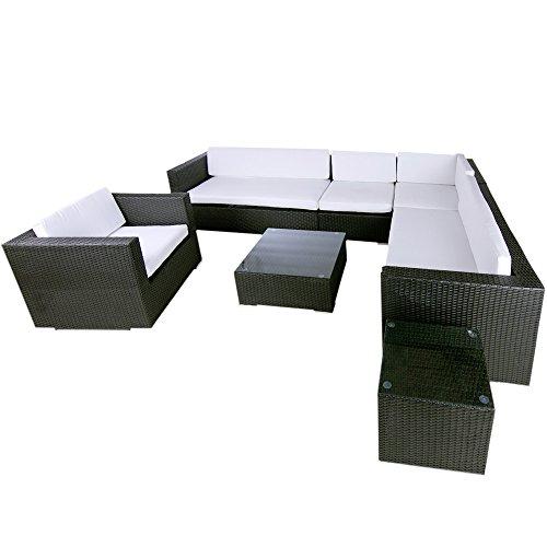Artlive Polyrattan Lounge Havanna (schwarz)