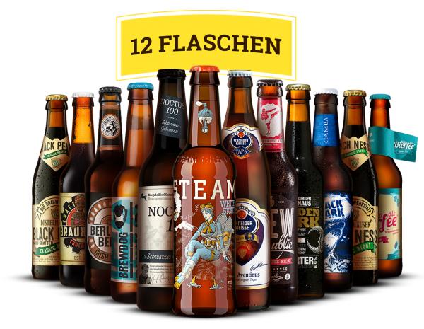 """BeerJack: 12er Bier-Box """"Malzige Biere"""" für 19,90€ (inkl. Versand & Pfand) statt 29,90€"""