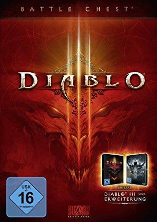 Diablo 3 Battlechest (PC/Mac) für 17,49€ bei Kinguin