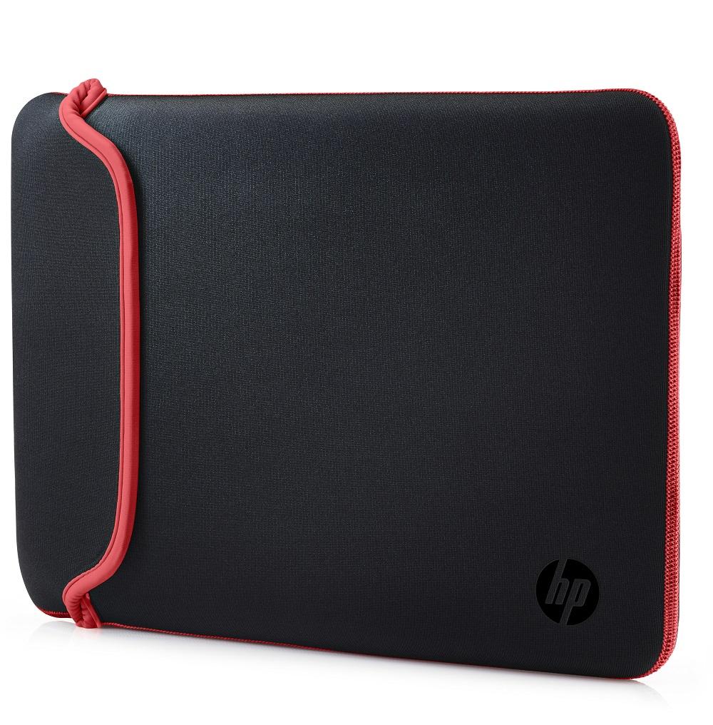 HP 15.6 Zoll Neoprenhülle für Notebooks, schwarz/rot