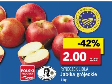 [Polen Grenzgänger LIDL] Äpfel Mehr Äpfel braucht das Land gz. die Obstbewegung