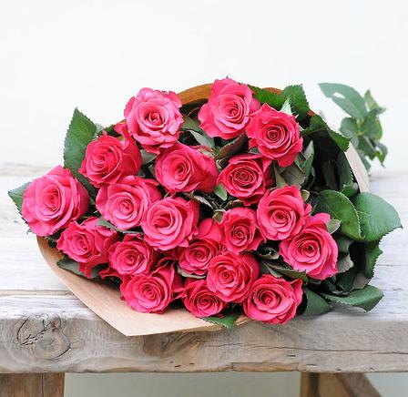 5€ sparen durch Teilnahme an Kundenbefragung (MBW 19,99€) bei Blume2000, z.B. 20 pinkfarbene Rosen für 19,94€ inkl. VSK statt 24,94€