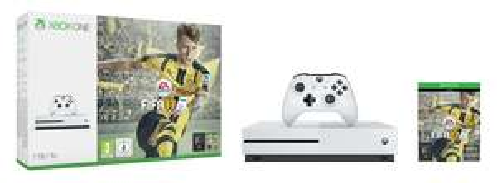 Microsoft Xbox One S 1TB + FIFA 17 für 269€ @ Comtech
