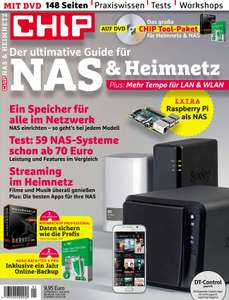 NAS & Heimnetz: Der ultimative Guide – Gratis Sonderheft von Chip als ebook