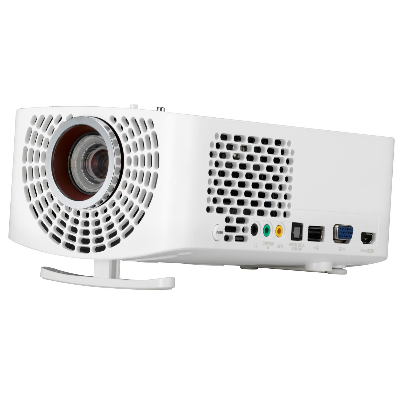 [NBB] LG PF1500G - LED, Full-HD, 3D, 1.400 ANSI Lumen, 150.000:1 Kontrast, 1.5 Kg, Miracast...