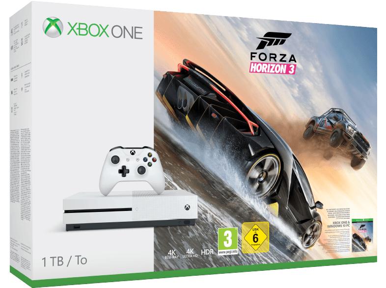 Xbox One S 1TB + Forza Horizon 3 + 2. Wireless Controller @mediamarkt.de