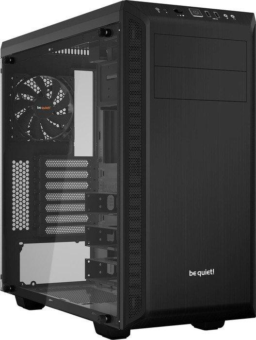 be quiet Pure Base 600 Window PC-Gehäuse (ATX, schallgedämmt, Kabelmanagement, integr. Lüftersteuerung, Echtglas) für 79,90€ [ZackZack]