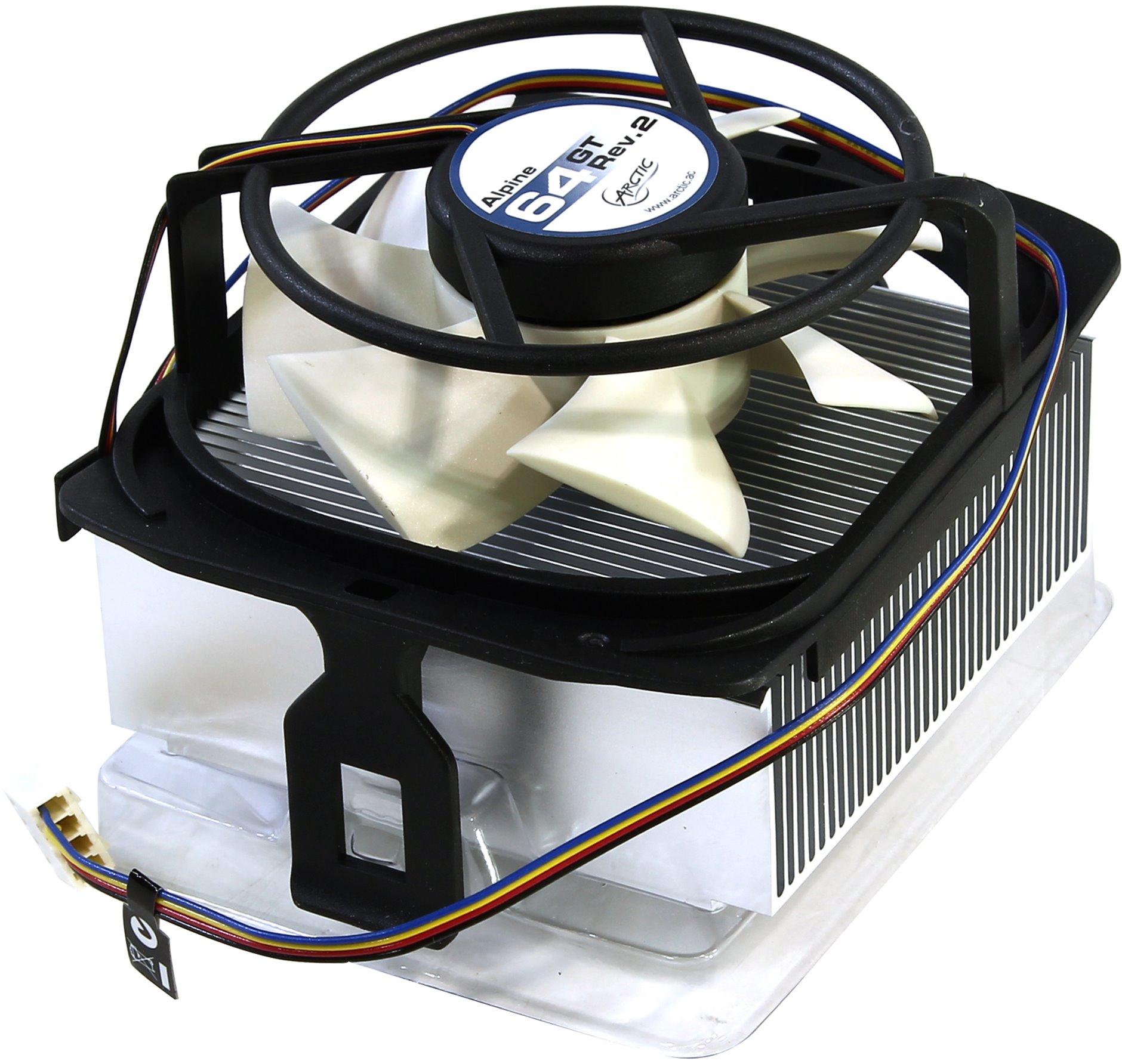 AMD RYZEN CPU Kühler Arctic Alpine 64 GT Rev.2 bis 70W TDP für 6,95 inkl. Versand & MX-2 Paste @AmazonPrime