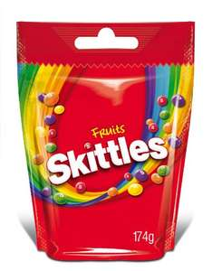 Skittles Fruits oder Wild Berry, 7er Pack (7 x 174 g) ab 5,98€ [Amazon Sparabo]