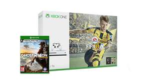 Xbox One S 1TB + FIFA 17 + Ghost Recon: Wildlands für 298,48€ (Microsoft UK)