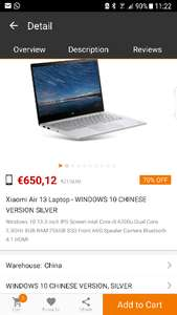 Xiaomi Air 13 [Gearbest] (App only) 39€ shoop zusätzlich möglich!