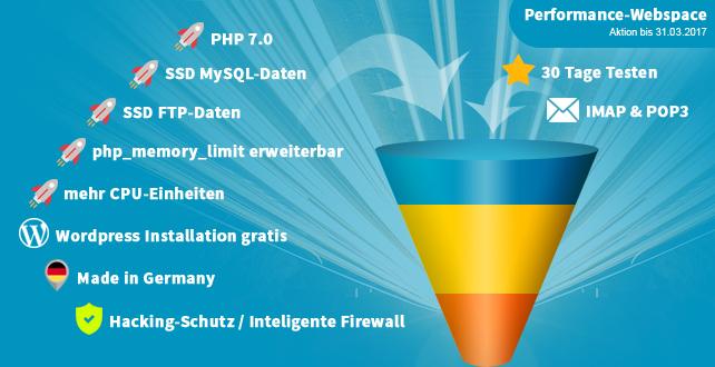 [do.de Aktion]: Webspace + Wordpress für 0,99 € / Monat