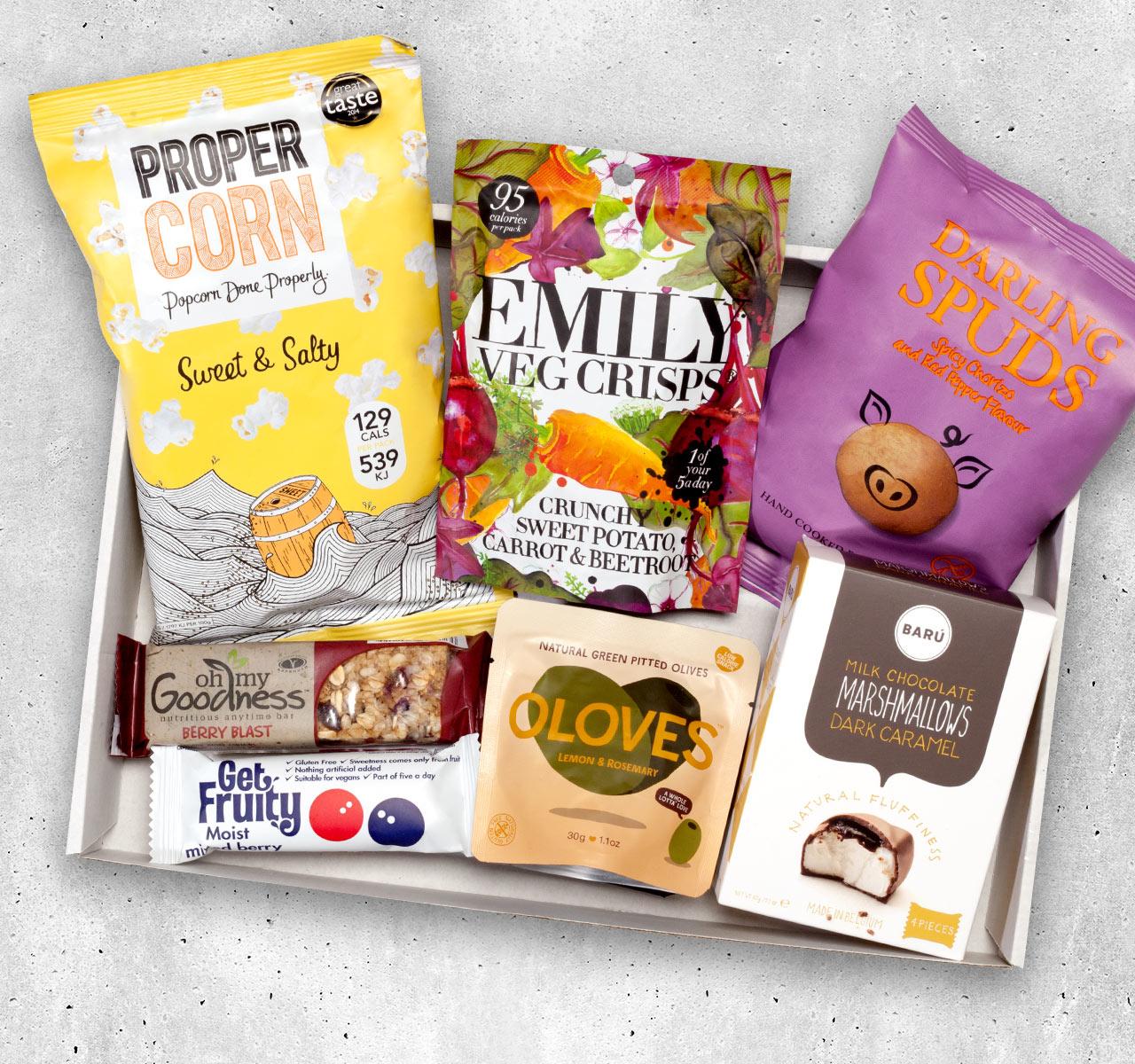 Foodist FineSnacker Box oder FineSnacker Box Active zum kennen lernen mit Gutschein für 7,90€ statt 12,90€ inkl. Versand