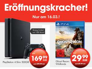 [Lokal Halle (Saale)] Eröffnungsangebote Gamestop PS4 Slim / Ghost Recon Wildlands
